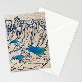 Triple Alpine Lakes :: Valhallas Stationery Cards