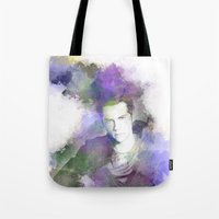 stiles Tote Bags featuring Stiles by NKlein Design