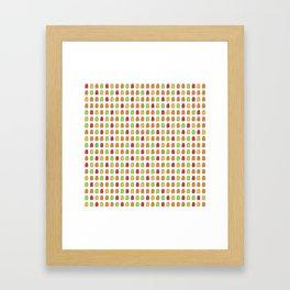 Gummy Bear Framed Art Print