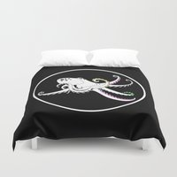 octopus Duvet Covers featuring Octopus by mailboxdisco