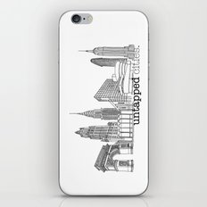 Untapped Cities iPhone & iPod Skin
