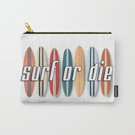 Surf or Die Carry-All Pouch