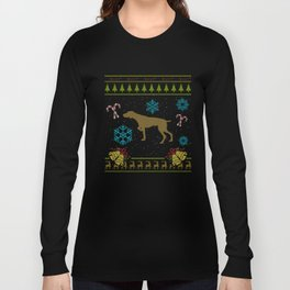 German Shorthaired Pointer Ugly Sweater Christmas Shirt Long Sleeve T-shirt