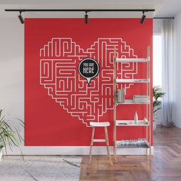 Finding Love Wall Mural