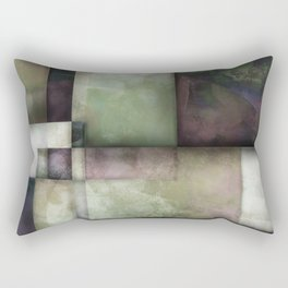Spring Twilight One abstract art by Ann Powell Rectangular Pillow