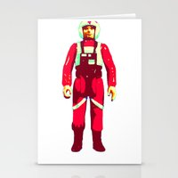 pilot Stationery Cards featuring pilot by BzPortraits