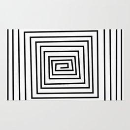 design black and white Rug