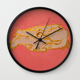 Battle Of The Dragons Wall Clock