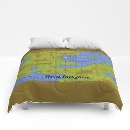 Terra Incognita Comforters