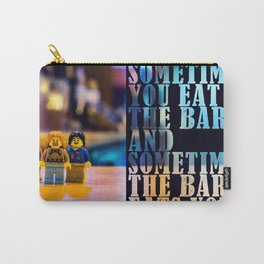 Sometimes the bar eats you - The Big Legowski Carry-All Pouch