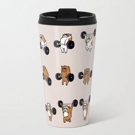 OLYMPIC LIFTING English Bulldog Travel Mug