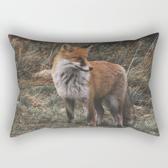 Feelin' Foxy Rectangular Pillow