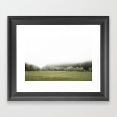 ONE FOGGY DAY... Framed Art Print