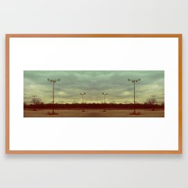 Empty Lot Framed Art Print