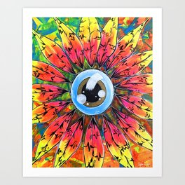 Eye Spy Art Print
