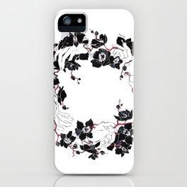 black orchid iPhone Case