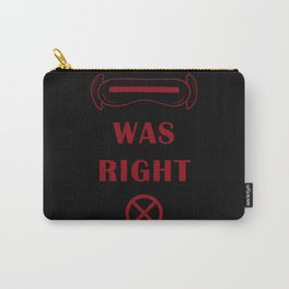 Cyclops Was Right Carry-All Pouch