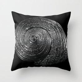 Metal Nautilida #2 Throw Pillow