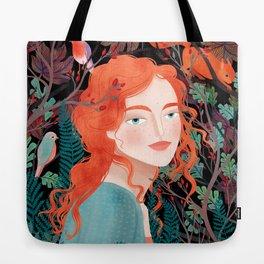 Autumns child Tote Bag