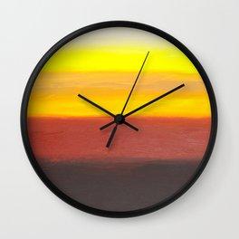 Two Windmills Wall Clock