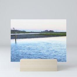 Early Evening at Chincoteague Bay Mini Art Print