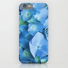 Blue Hydrangea Slim Case iPhone 6s