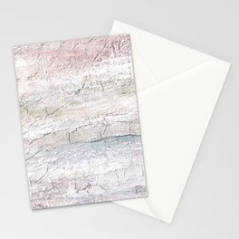 Soft Pastel Texture Acrylic Abstract Stationery Cards