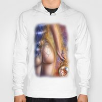 mirror Hoodies featuring Mirror by Miguel Angel Carroza