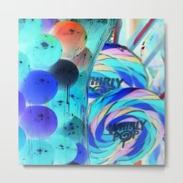 Lollipops & Gumballs Metal Print