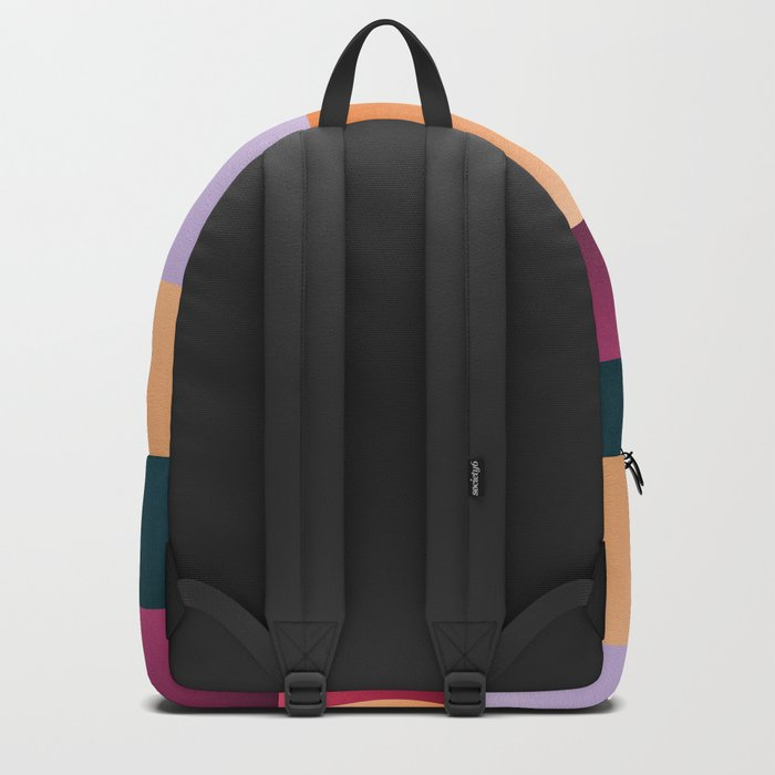 Sunset at beach Backpack