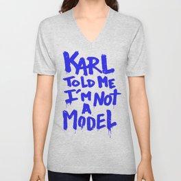 Karl told me // Summer 2014 edition // Unisex V-Neck
