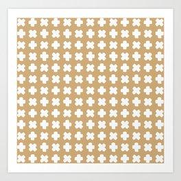 Celeste Mustard Yellow Art Print
