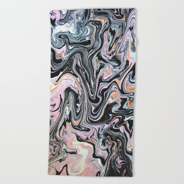 Have a little Swirl Beach Towel
