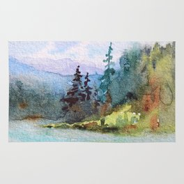 Nature: Cool Shores of Freedom Rug