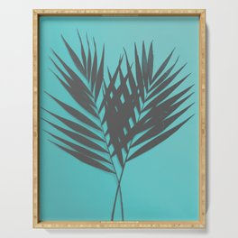 Palm Leaves #1 #Mint #decor #art #society6 Serving Tray