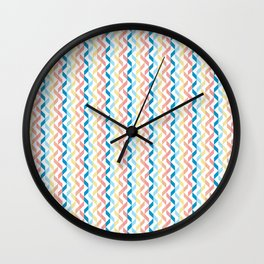 Ordered Peaches by the Sea Wall Clock