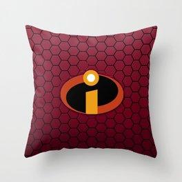 Incredible Logo Throw Pillow
