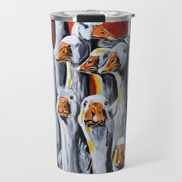 Gaggle of Geese Travel Mug