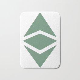 Ethereum Classic (ETC) Logo Bath Mat