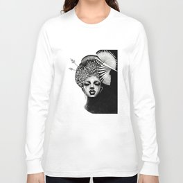 Fuji Lips Long Sleeve T-shirt