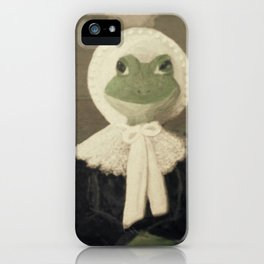 Madame Froggy iPhone Case