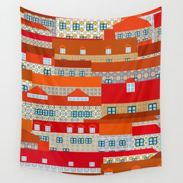 lisbon tiles Wall Tapestry