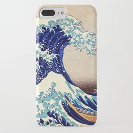 Katsushika Hokusai The Great Wave Off Kanagawa iPhone Case