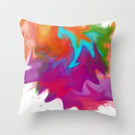 Squished Throw Pillow