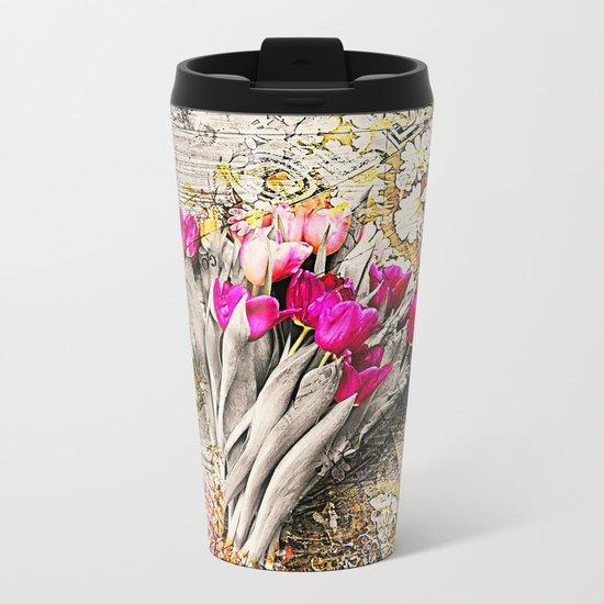 Remember Spring Metal Travel Mug