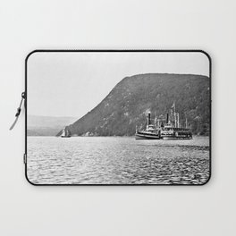 19th Century Steamboats, Anthony's Nose, Lake George Laptop Sleeve