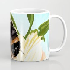 Bee on flower 4 Mug