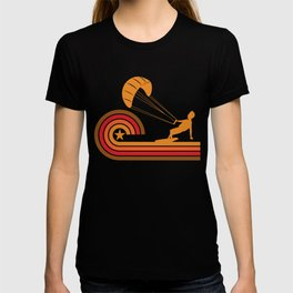 Retro Style Kite Surfer Vintage Kite Surfing T-shirt