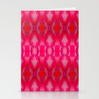 ikat Stationery Cards featuring Ikat by Amy Sia