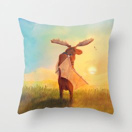 Wistful Throw Pillow